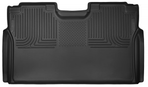 Husky Liners (53491): X-act Contour 2nd Seat Floor Liner for 2015 Ford F-150 SuperCrew Cab
