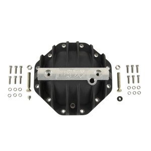 B&M (11306): Black Cast Aluminum Differential Cover for Chrysler 9.25