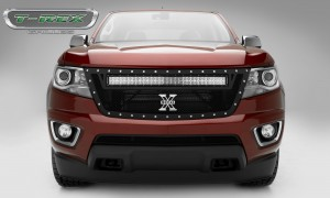T-REX Grilles (6312671): 2015 Chevrolet Colorado Torch Series Main Grille
