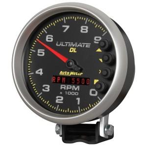 Auto Meter (6896): 5″ Ultimate DL 9,000 RPM Tach