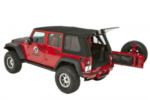 Bestop (54853): Trektop™ Pro for 2007-2015 Wrangler JK Unlimited 4-door
