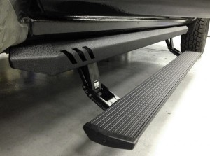 AMP Research (77154-01A): 2007-2015 Silverado/Sierra Crew Cab Plug-and-Play PowerStep XL