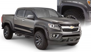 Bushwacker (40969-02): Pocket-Style Flares for 2015 Chevrolet Colorado 62.7″ Bed