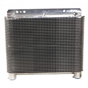 B&M (70272): Polished Aluminum SuperCooler Oil Cooler