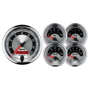 Auto Meter (1202): American Muscle 5-Piece Gauge Set