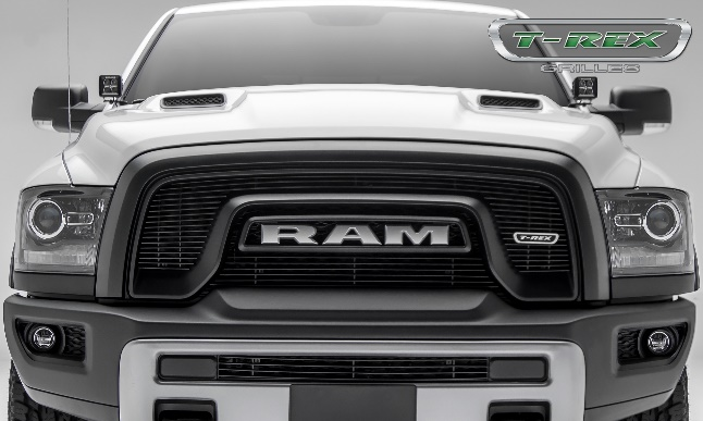 T-Rex Grilles (6214641): Laser Billet Grille for '15-'17 Ram Rebel 1500