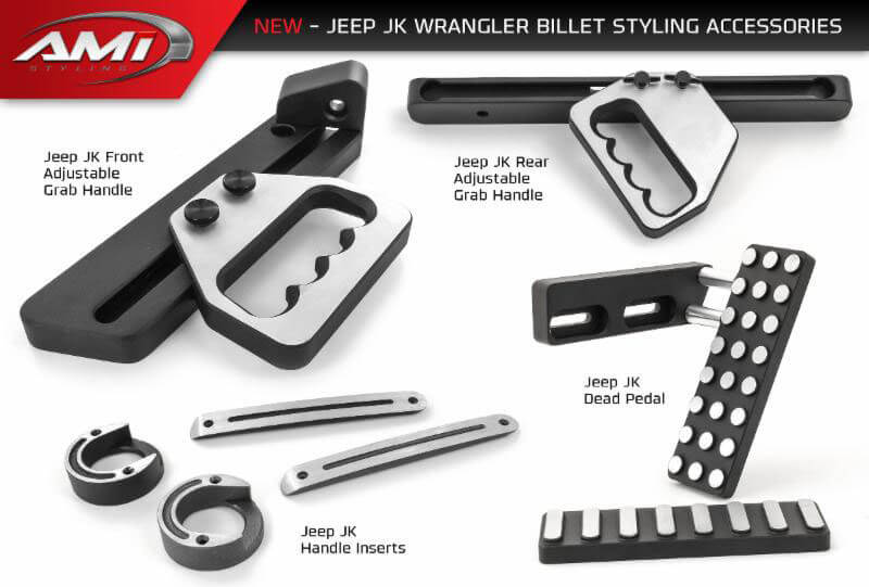 AMI Styling: New Billet Aluminum Accessories for Wrangler JK