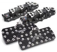 Edelbrock Black Powder-Coated Flathead Components for Ford