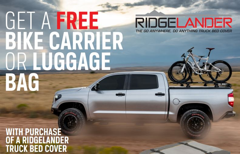 UnderCover: Get a Free Rhino-Rack Bike Carrier or Luggage Bag