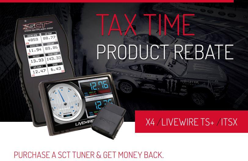 SCT: Tax Time Rebate