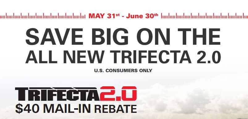 Extang 40 Dollar Trifecta 2.0 Rebate