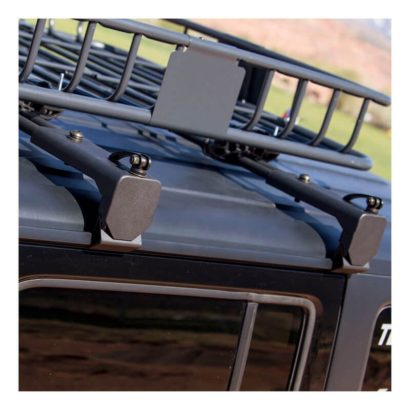 ARIES Roof Cargo Brackets for Jeep Wrangler 2070450