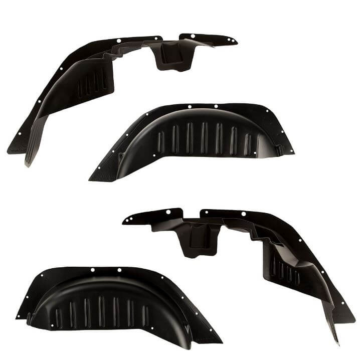 Rugged Ridge (11615.30): Gen 2 All-Terrain Fender Liner Kit for '07-'18 Jeep Wrangler JK/JKU