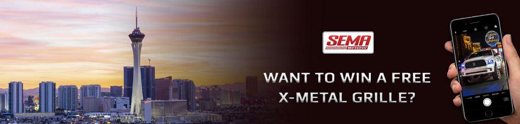 T-Rex SEMA X-Metal Grille Contest