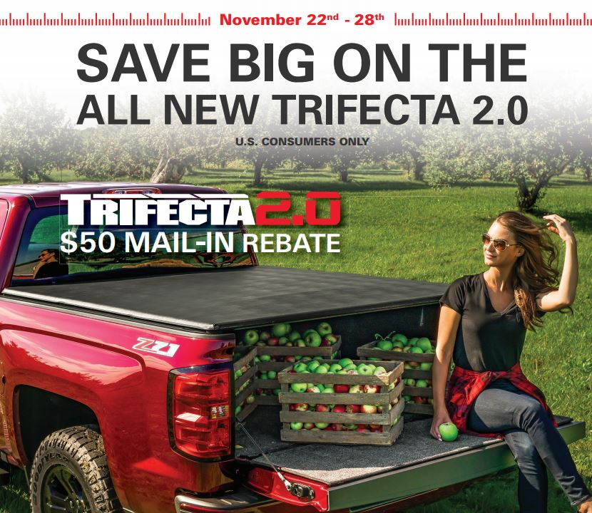 Extang 50 Dollar Rebate on Trifecta 2.0