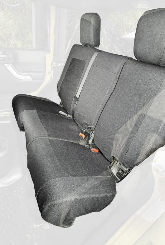 Rugged Ridge Elite Ballistic Pro Rear Seat Cover for Jeep Wrangler Unlimited