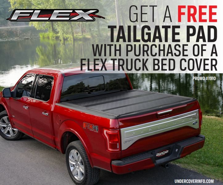 UnderCover Free Tailgate Pad with Flex