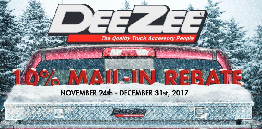 Dee Zee: Get a 10% Rebate