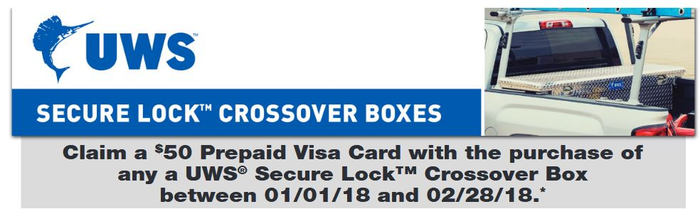 UWS 50 Card on Secure Lock Toolboxes