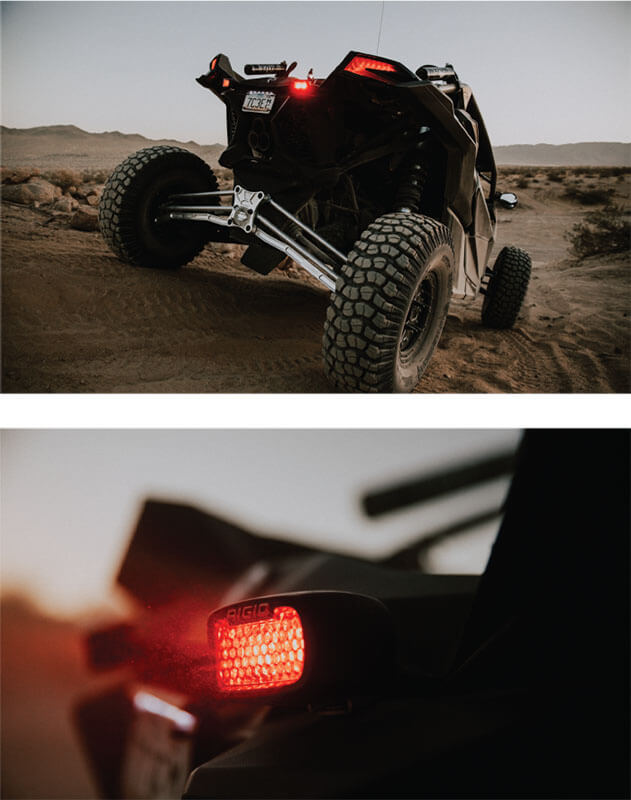 RIGID Industries Rear Facing High-Low LEDs