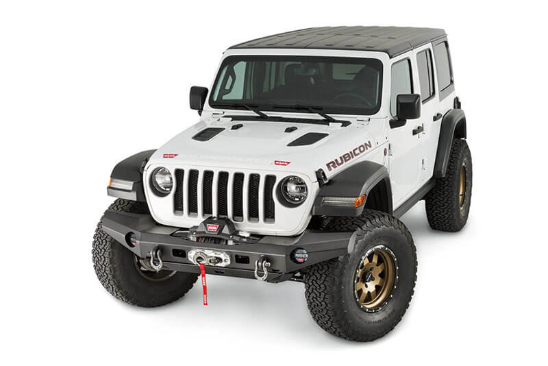WARN Elite Front Bumper for JL