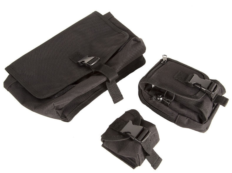 Rugged Ridge MOLLE Roll Bar Storage Bag for Jeep JL Rubicon 12113.01