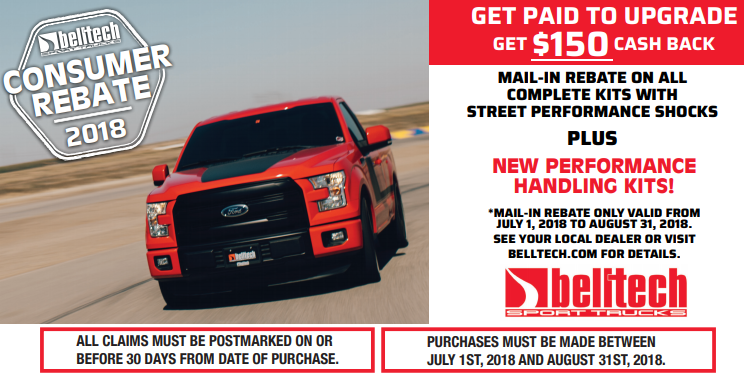 Belltech: Get $150 Back on Qualifying Complete Kits with Street Performance Shocks