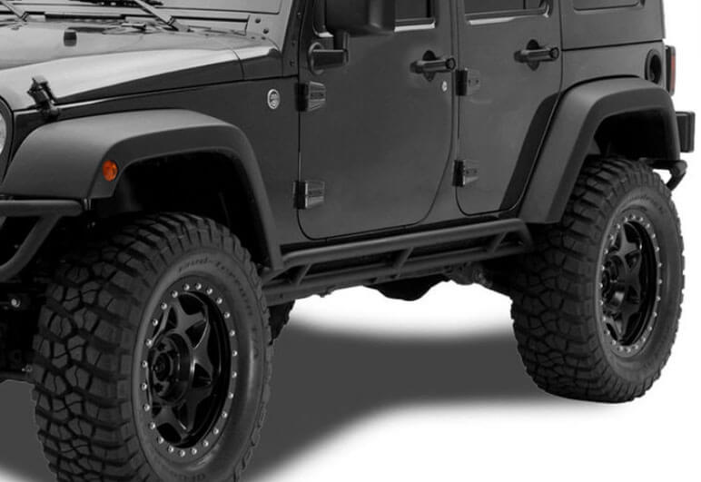 N-FAB Rocker Guards for 2018 Jeep Wrangler JK