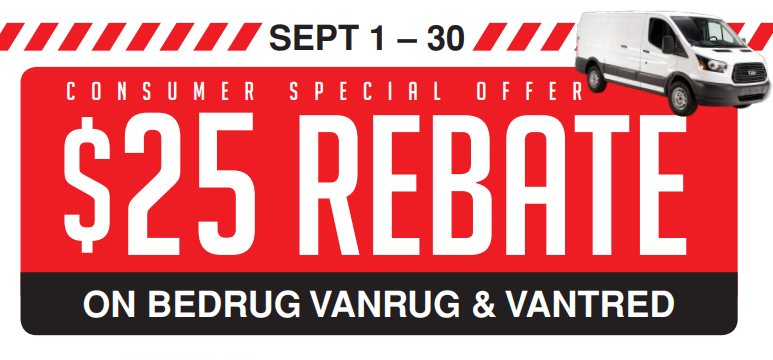 BedRug 25 Back on VanRug and VanTred