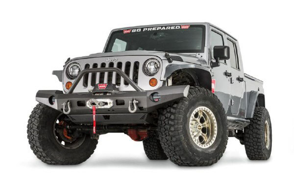 WARN: Elite Series Front Bumpers for Jeep Wrangler JK