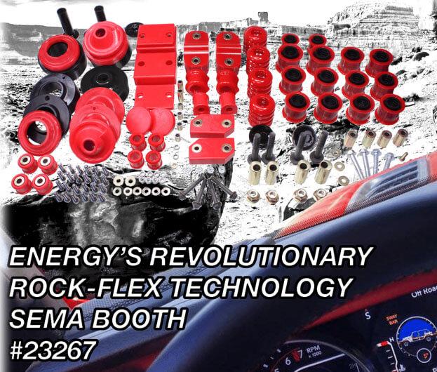 Energy Suspension: Rock-Flex Suspension Systems for 2018 Jeep Wrangler JL