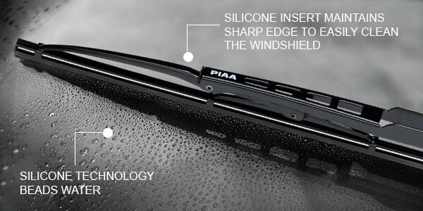 PIAA: Silicone Wiper Blades for Rainy Fall Driving