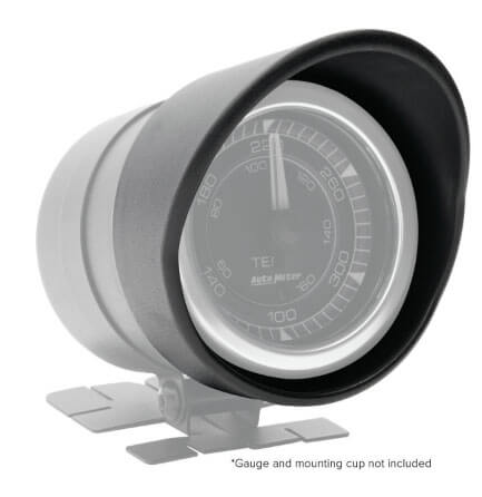 "AutoMeter Products: Gauge Visors for 2-1/16"" AutoMeter and Spek-Pro Instruments"
