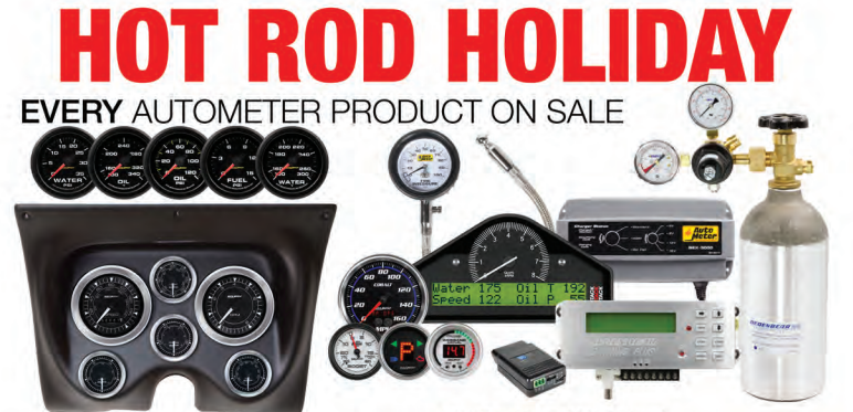 AutoMeter: Get Up to $250 Back During Hot Rod Holiday