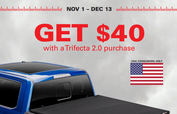 Extang: Get $40 Back on the Trifecta 2.0 Truck Bed Cover