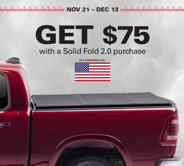 Extang: Get $75 Back on the Solid Fold 2.0 Truck Bed Cover