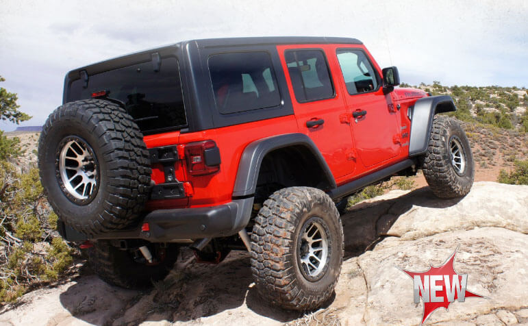 Rancho: Crawler Short-Arm Suspension Systems for 2018 Jeep Wrangler JL
