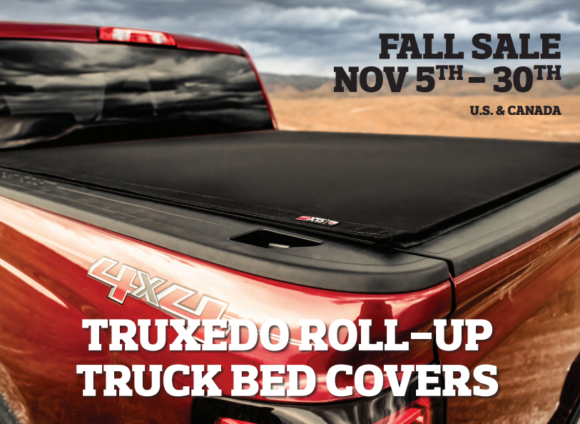 TruXedo: Get Up to $50 Back on Roll-Up Truck Bed Covers