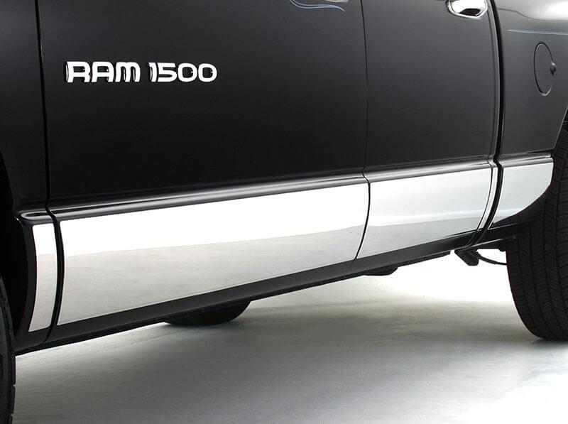 ICI: Stainless Steel Rocker Panels for 2019 Ram 1500