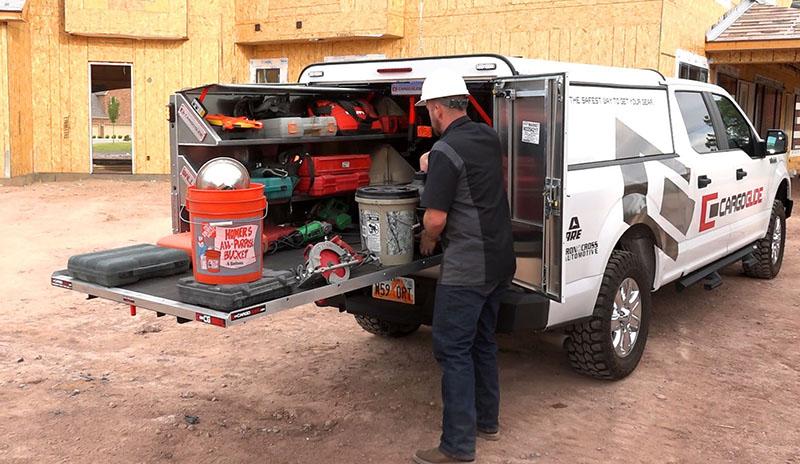 CargoGlide: Truck WallSlide System