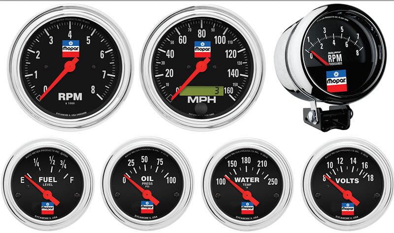 AutoMeter Products: Mopar Classic Gauges
