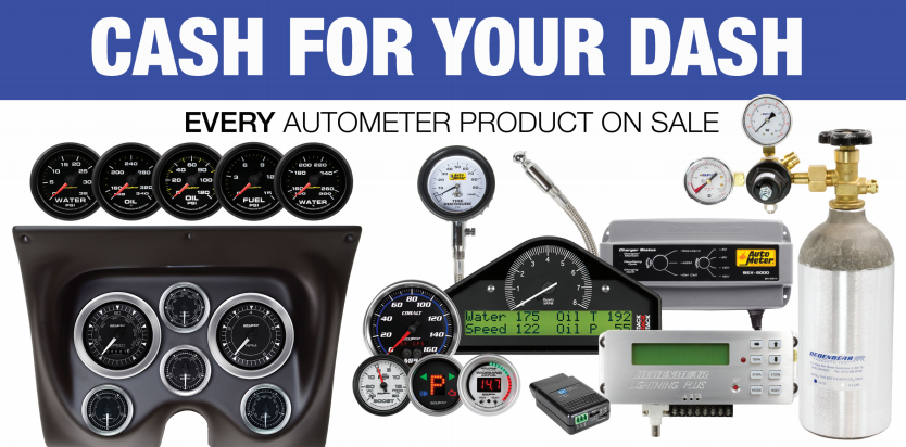 "AutoMeter: Get up to $250 Back During ""Cash for Your Dash"" Promotion"