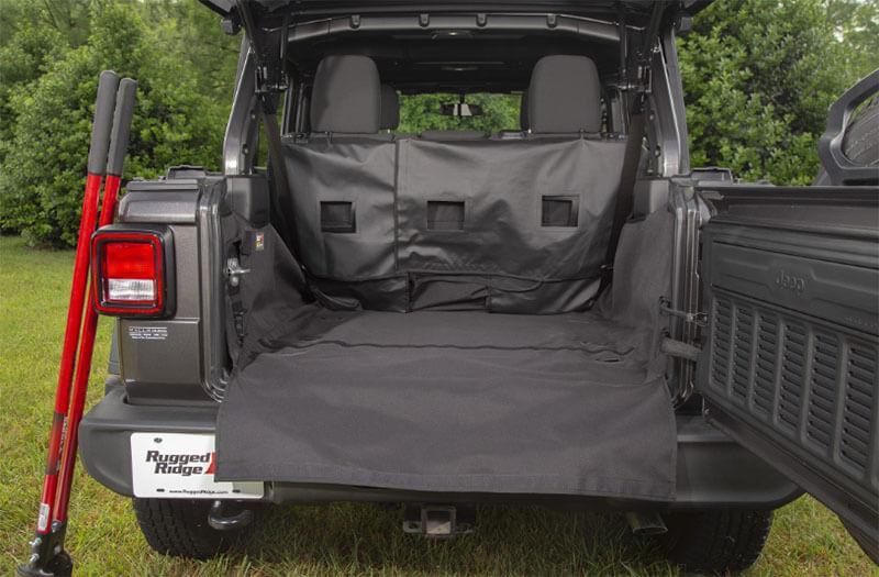 Rugged Ridge: C3 Cargo Cover for '18-'19 Jeep Wrangler JLU